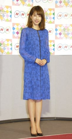 平成30年度『NHK語学番組発表会見』に出席した加藤綾子 (C)ORICON NewS inc.