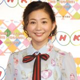 平成30年度『NHK語学番組発表会見』に出席した関根麻里 (C)ORICON NewS inc.