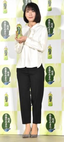 『綾鷹 茶葉のあまみ』新発売記念イベントに出席した吉岡里帆(C)ORICON NewS inc.