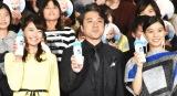 映画『ボス・ベイビー』のジャパンプレミアに出席した(左から)乙葉、ムロツヨシ、芳根京子 (C)ORICON NewS inc.