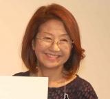 映画『坂道のアポロン』(10日公開)の公開直前イベントに出席した綾戸智恵 (C)ORICON NewS inc.