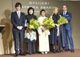(左から)DAIGO、林陽子氏、妹島和世氏、YOON氏、ブルガリジャパン代表取締役社長ウォルター・ボロニーノ氏 (C)ORICON NewS inc.