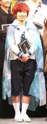 朗読演劇『風の又三郎・よだかの星』の会見に出席した納谷健 (C)ORICON NewS inc.