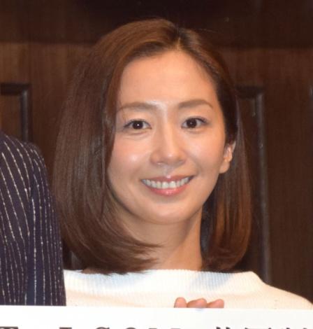 連続ドラマ『記憶』の制作発表会見に出席した優香 (C)ORICON NewS inc.