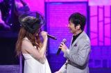 『MUSIC FAIR』10日の放送では2700回記念コンサートでのJUJU、�コ永英明によるコラボレーションを送る(C)フジテレビ