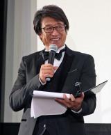 『あにめたまご2018』完成披露上映会で司会を務めた井上和彦 (C)ORICON NewS inc.
