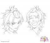 アニメ『天下統一恋の乱〜出撃!雑賀4人衆〜』に登場するキャラクターの燕のラフ画(C)ボルテージ