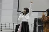 『AKB48グループ センター試験』会場で意気込みを語った入山杏奈(C)AKS