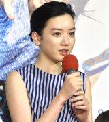 胎児シーンの声入れに挑戦した永野芽郁=NHK連続テレビ小説『半分、青い。』の第1週完成試写会 (C)ORICON NewS inc.