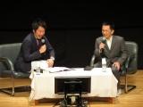 大河ドラマ『西郷どん』山田為久役の徳井優=番組のシーンを見ながらトーク(C)NHK