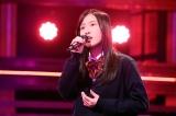 3月11日放送、テレビ朝日系『今夜、誕生!音楽チャンプ』グランドチャンプを目指す琴音(C)テレビ朝日