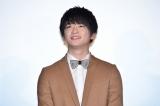 映画『坂道のアポロン』初日舞台あいさつに出席した知念侑李
