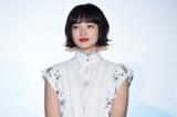 映画『坂道のアポロン』初日舞台あいさつに出席した小松菜奈