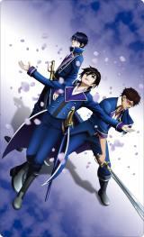 劇場アニメーション『K SEVEN STORIES』Episode 2「SIDE:BLUE 〜天狼の如く〜」の「K FAN CLAN」限定鑑賞券のビジュアル(C)GoRA・GoHands/k-7project