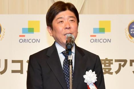 『オリコン顧客満足度アワード授賞式』で語る小池恒社長(C)oricon ME inc.