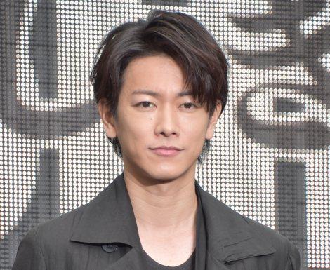 映画『いぬやしき』新宿プレミアイベントに登場した佐藤健 (C)ORICON NewS inc.