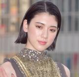 映画『いぬやしき』新宿プレミアイベントに登場した三吉彩花 (C)ORICON NewS inc.