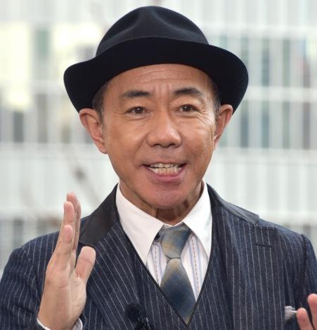 映画『いぬやしき』新宿プレミアイベントに登場した木梨憲武 (C)ORICON NewS inc.