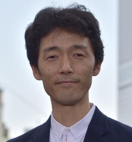 映画『いぬやしき』新宿プレミアイベントに登場した佐藤信介 (C)ORICON NewS inc.