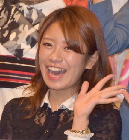 新宿のルミネtheよしもとで行われた『よしもと47シュフラン2018認定式』に参加した福本愛菜 (C)ORICON NewS inc.