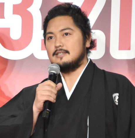 映画『曇天に笑う』のイベントに出席した加治将樹 (C)ORICON NewS inc.