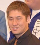 新宿のルミネtheよしもとで行われた『よしもと47シュフラン2018認定式』に参加したハイキングウォーキング・松田洋昌 (C)ORICON NewS inc.
