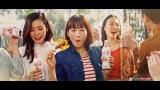 トクホ炭酸飲料「コカ・コーラ プラス」の新TVCM「コカ・コーラ プラス おいしいから飲む春」篇に出演した綾瀬はるか