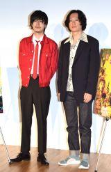 映画『ニワトリ★スター』の公開直前イベントに参加した(左から)成田凌、井浦新 (C)ORICON NewS inc.