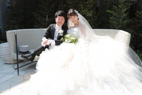 サムネイル 『春だ! お笑いデートキャンペーン〜二人の愛は4エバー(Forever)〜』の会見に参加した(左から)吉田裕、前田真希