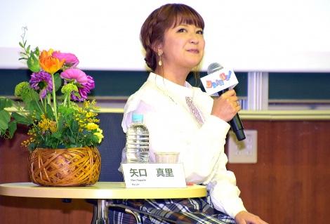 サムネイル 東大駒場キャンパスで講演した矢口真里 (C)ORICON NewS inc.