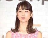 """""""おめでたラッシュ""""を祝福した小倉優子 (C)ORICON NewS inc."""