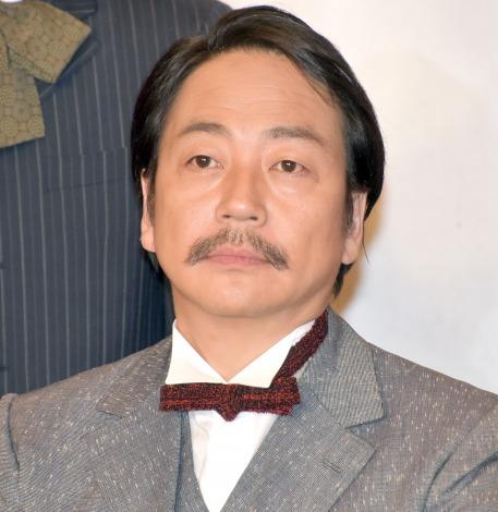 映画『この道』クランクアップ報告会見に出席した大森南朋 (C)ORICON NewS inc.