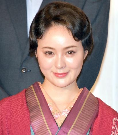 映画『この道』クランクアップ報告会見に出席した貫地谷しほり (C)ORICON NewS inc.