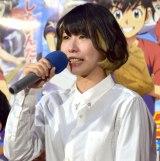 『メジャーセカンド』試写会で感涙した藤原夏海 (C)ORICON NewS inc.