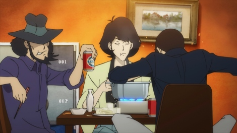 新アニメ『ルパン三世 PART5』追加場面カット(C)原作モンキー