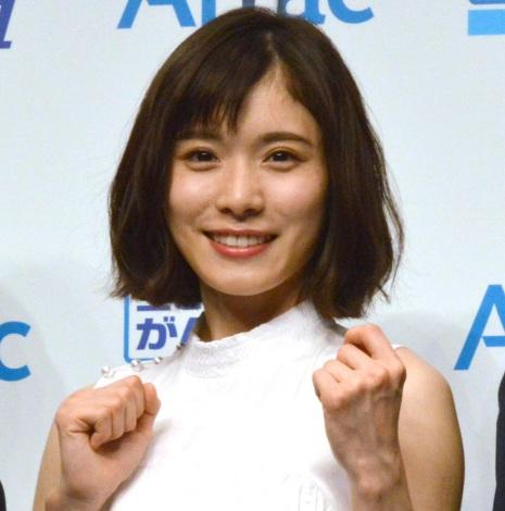 アフラック『生きるためのがん保険Days1』新商品発表会に出席した松岡茉優 (C)ORICON NewS inc.