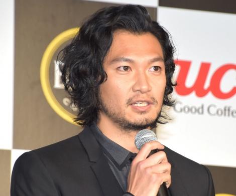 「UCC BLACK GOLD BREW PET500ml」新テレビCM発表記念イベントに出席した青木崇高 (C)ORICON NewS inc.