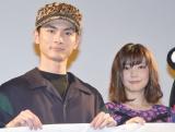 同郷・同い年での夫婦を演じた(左から)高良健吾、倉科カナ (C)ORICON NewS inc.