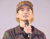 復興支援ドラマ『ともにすすむ サロン屋台村』舞台あいさつに登壇した高良健吾 (C)ORICON NewS inc.