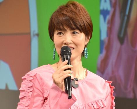 タカラトミーの事業発表会に出席した荻野目洋子 (C)ORICON NewS inc.