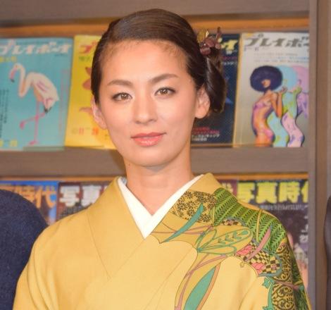 映画『素敵なダイナマイトスキャンダル』のサントラ発売記念イベントに出席した尾野真千子 (C)ORICON NewS inc.