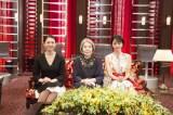 3月28日放送、NHK総合『マイ・ラスト・ソング』出演者(左から)小泉今日子、樹木希林、満島ひかり(C)NHK
