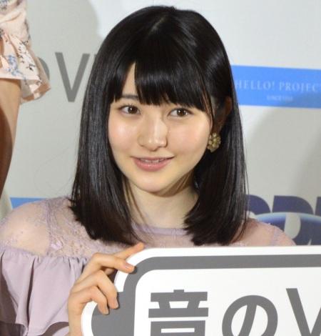 『音のVR×ハロー!プロジェクト』お披露目説明会に出席したモーニング娘。'18・尾形春水 (C)ORICON NewS inc.
