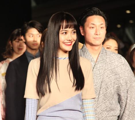 ファッションショー『SHIBUYA RUNWAY』に出演した松井愛莉 (C)ORICON NewS inc.