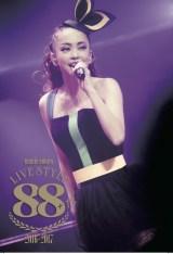安室奈美恵のフォトブック『GIFT』に同梱されるプレイパス ライブ映像ダウンロードカード表面