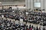 千葉・幕張メッセなど国内外13会場で一斉開催された『AKB48グループ センター試験』(C)AKS