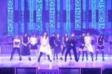 『MUSIC FAIR』17日の放送の2700回記念コンサートに出演したE-girls(C)フジテレビ