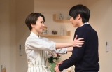 NHKのコント番組『LIFE!〜人生に捧げるコント〜』4月13日放送回に木村佳乃が初出演。右は中川大志(C)NHK