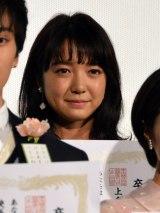 映画『ちはやふる-結び-』公開初日舞台あいさつに出席した上白石萌音 (C)ORICON NewS inc.