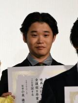 映画『ちはやふる-結び-』公開初日舞台あいさつに出席した矢本悠馬 (C)ORICON NewS inc.